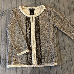 MM couture Miss Me embellished cardigan small